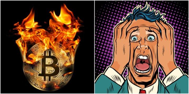bitcoin investors terrified