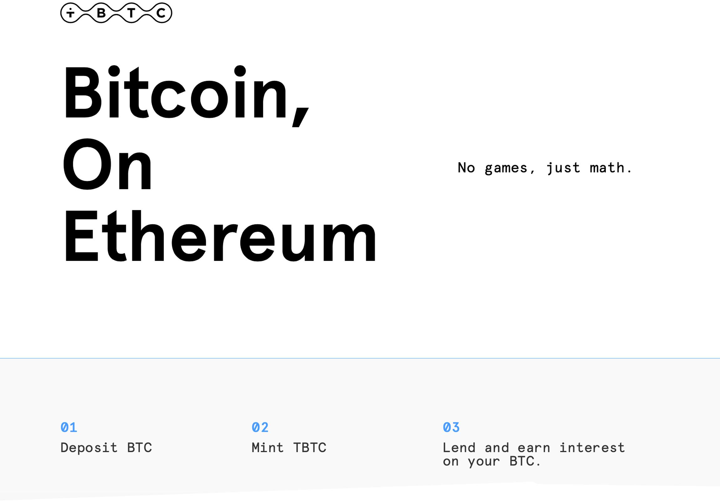 Defi for Bitcoin: Collateral Peg Platform Provides Noncustodial BTC Lending on Ethereum