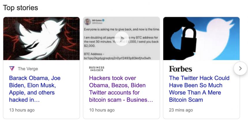 bitcoin scam, google, keyword